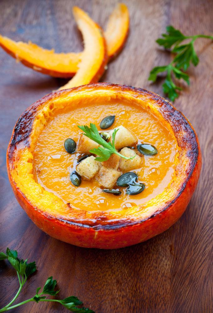 recetas vegetarianas, ayurveda, recetas, crema, calabaza, sincolorantes.com