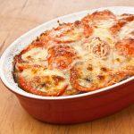 Proteina vegetal, recetas vegetarianas, berenjena, lentejas, bechamel