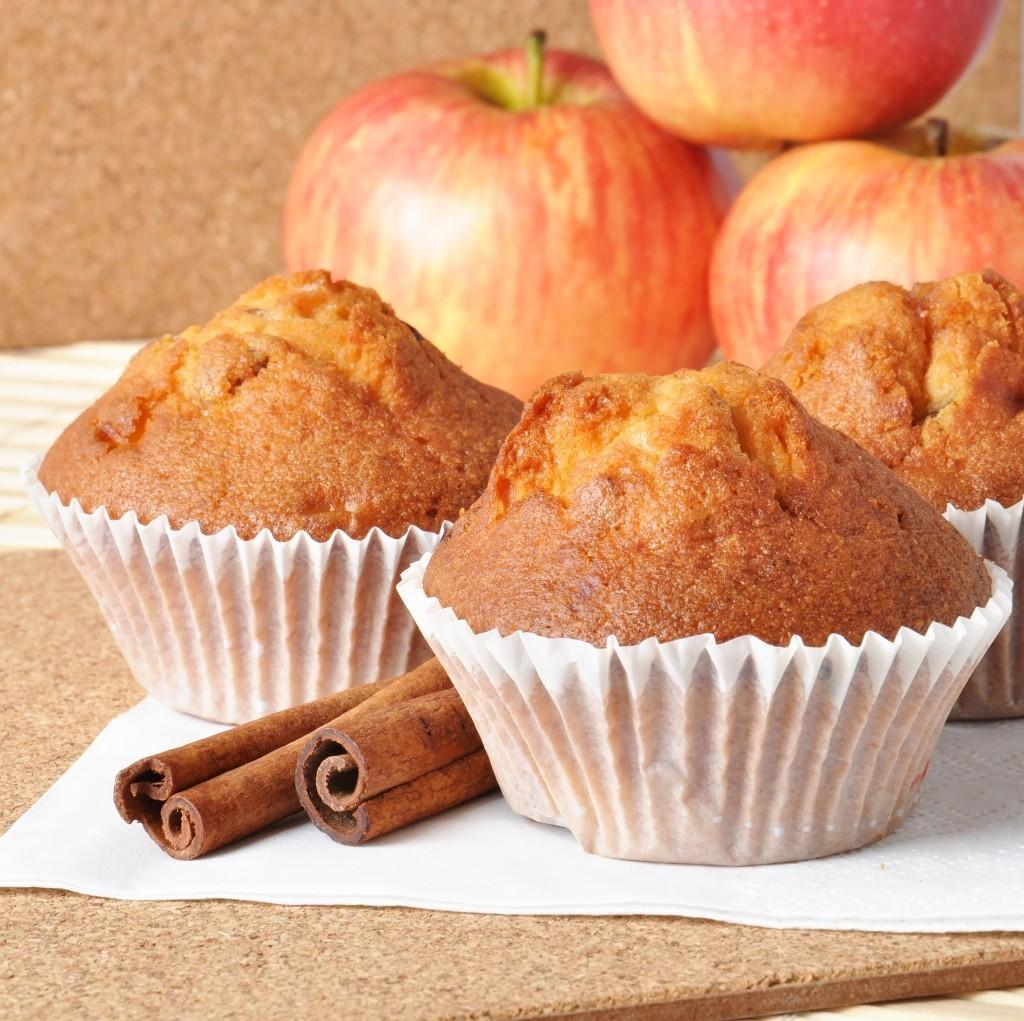 muffins de manzana sin huevo sin lacteos veganos vegano vegetariano ayurveda