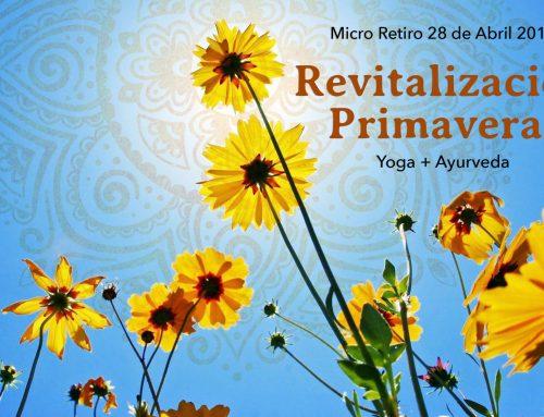 Revitalización Primaveral: Yoga & Ayurveda