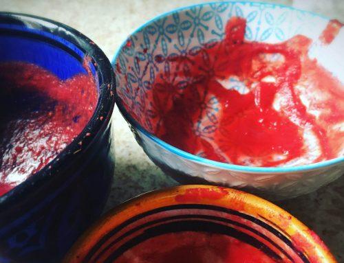 Sopa de Terciopelo Rojo