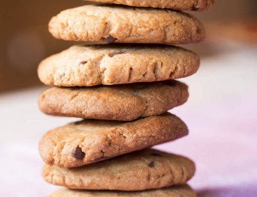 Easy Vegan Buckwheat Chocolate Chip Cookies