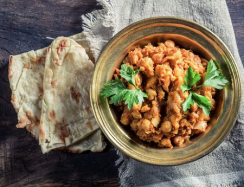 Curried Chickpeas – Chole