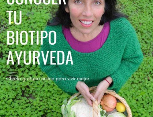 26/1 19h – Masterclass Gratuita – Las Ventajas de Conocer tu Biotipo Ayurveda